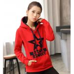 เสื้อกันหนาวแฟชั่น สีสันโดดเด่นและลายเสื้อเอ็นเอกลักษณ์ ผ้าหนานุ่ม ทรงเข้ารูปพอดีตัว - แดง