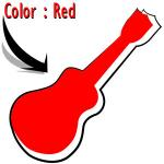 สีแดง