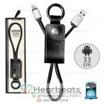 สายชาร์จ Remax Cable For Micro รุ่น RC-034MR ( สีดำ )