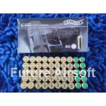 Blank Cartridges Walther 9mm.PAK. 50Pcs.