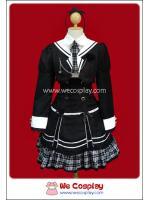 ชุดโกธิคพังค์ โรสกาคุเอ็น สีขาวดำ Black & White Rose Gakuen Uniform Separate