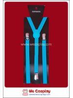 สายเอี๊ยม สีฟ้า Sky Blue Suspenders