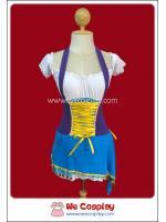 ชุดโจรสลัดสาวสวย สีฟ้า Sky Blue Pirate Fancy Costume for Women