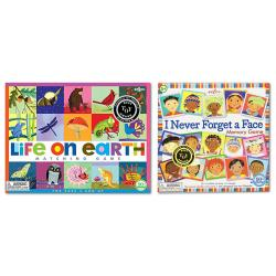 Life On Earth, I Never Forget a Face Memory Game