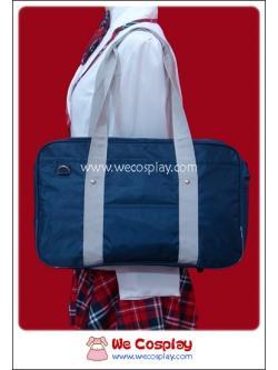 กระเป๋านักเรียนญี่ปุ่น สีกรมท่า