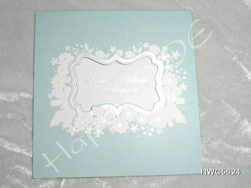 HWC5624 การ์ดแต่งงานแนะนำ
