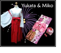 Yukata & Miko