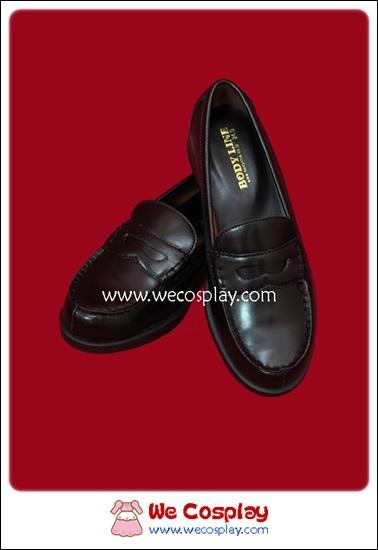 รองเท้านักเรียนญี่ปุ่น สีดำ (Black Japanese School Shoes)