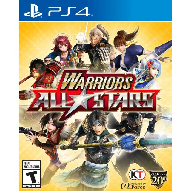 PS4 : Warrior All Star (R3)