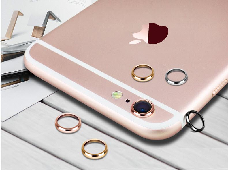 (สีทองชมพู) Iphone 7 (วัสดุสแตนเลสอย่างดีโดนน้ำได้ไม่ขึ้นสนิม)