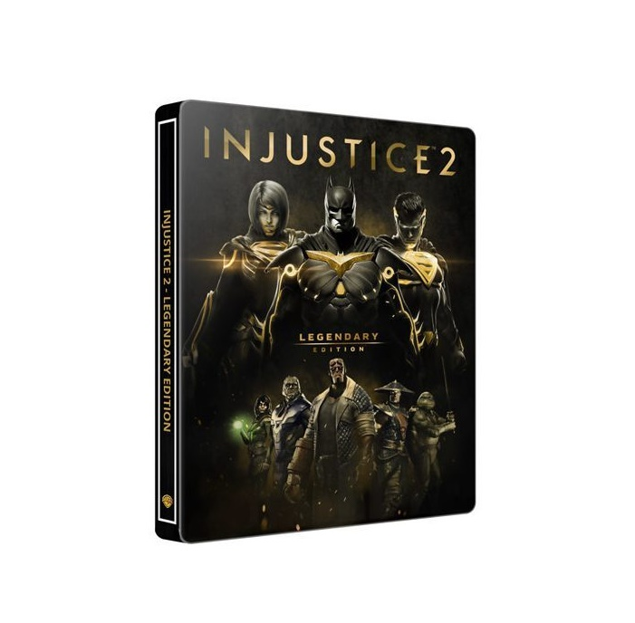 PS4: Injustice 2 Legendary Edition [Steel Case] (R3)