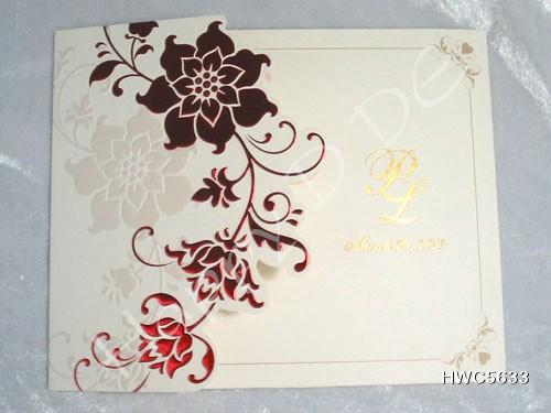 HWC5633 การ์ดแต่งงานแนะนำ