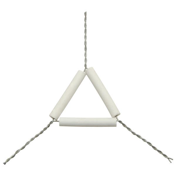 ลวดสามเหลี่ยม pipe clay triangle