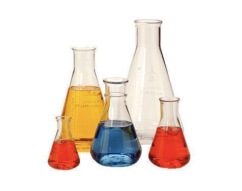 ขวดรูปชมพู่ พลาสติก Graduated Plastic Erlenmeyer Flask