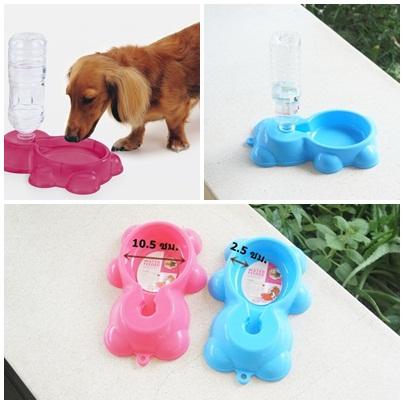 ที่ให้น้ำสุนัขและแมวรูปหมี (ส่งฟรี)