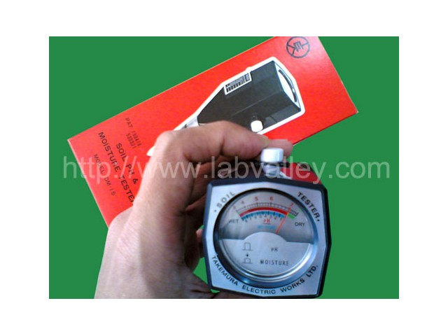 เครื่องวัดดิน วัดค่า pH กรด-ด่าง และความชื้น ในดิน (soil pH tester) รุ่น DM-13 DM-15