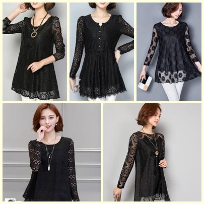 collection เสื้อลูกไม้สีดำ มีให้เลือกหลายแบบ เราคัดสรรมาเพื่อสาวๆ โดยเฉพาะ