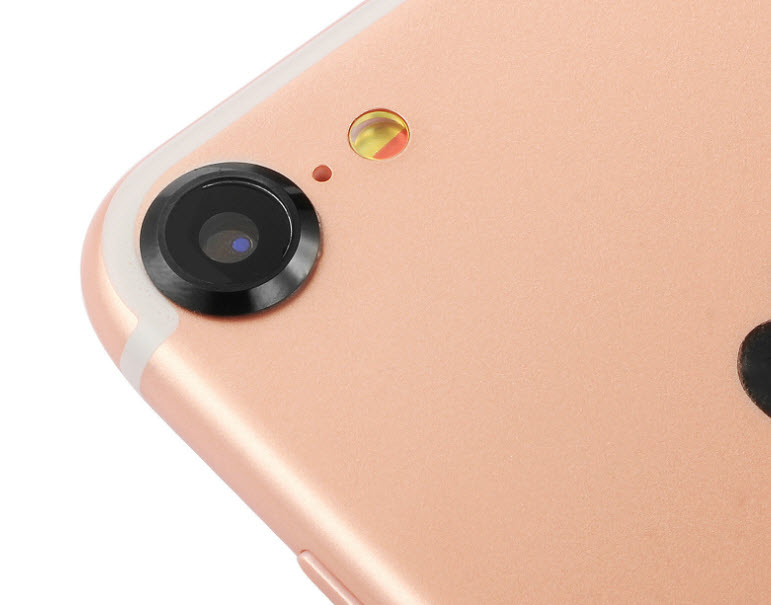 (สีดำ) Iphone 7 (วัสดุสแตนเลสอย่างดีโดนน้ำได้ไม่ขึ้นสนิม)