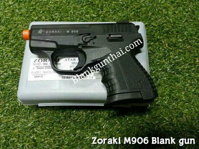 Zoraki 906 Black Front Firing cal.9mm.PAK Blank Gun