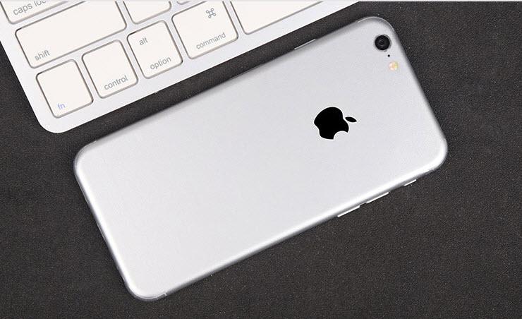 ฟิล์มหลังเครื่อง Iphone 6/6s (สีเงิน)