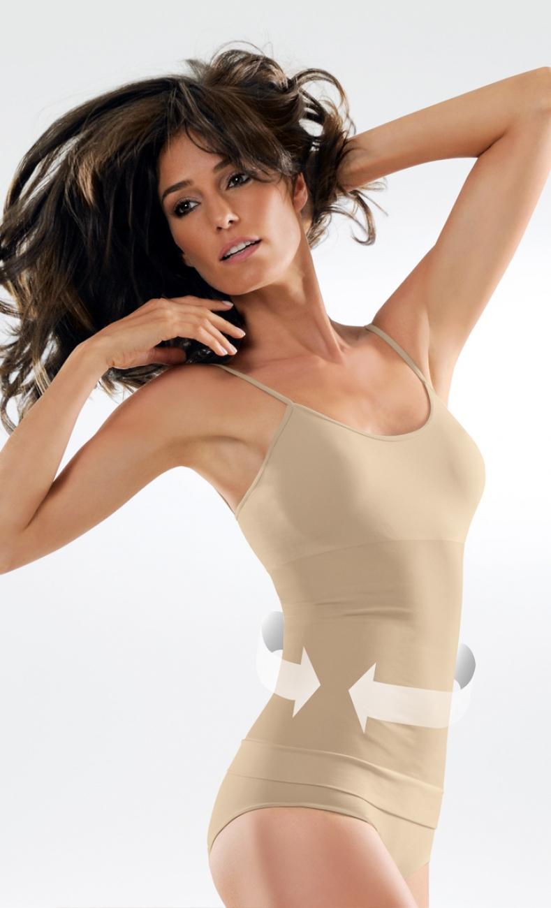 Control Body ชุดกระชับสัดส่วน แบบเสื้อกล้าม CAMISOLE MEDIUM COMPRESSION Shapewear