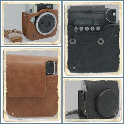 กระเป๋ากล้องแฟชั่น Instax mini 90 หนังเนื้อดีสำหรับคนชอบสไตล์คลาสสิค