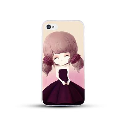 เคสไอโฟน 6 Plus / 6s Plus (TPU CASE) สาวเกาหลีน่ารัก แบบ 5