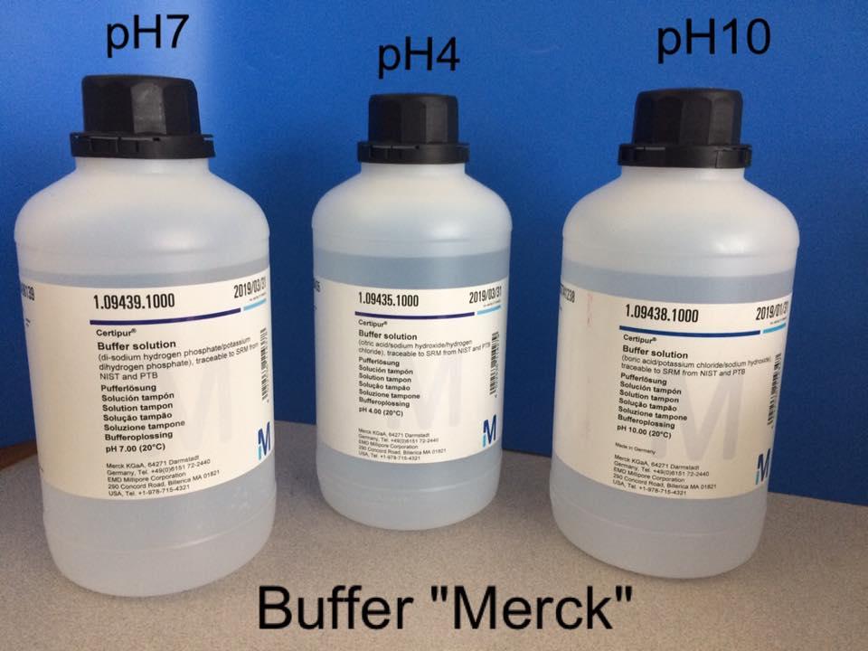 สารละลายบัฟเฟอร์ สีใส Merck