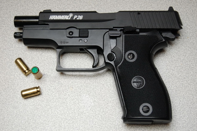 Umarex Hammerli P26 , cal 9mm.PAK. Blank Gun