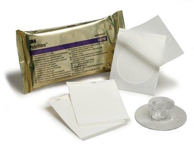 ชุดตรวจปริมาณเชื้อยีสต์และรา แบบรวดเร็ว Petrifilm Rapid Yeast and Mold Count Plate (RYM)