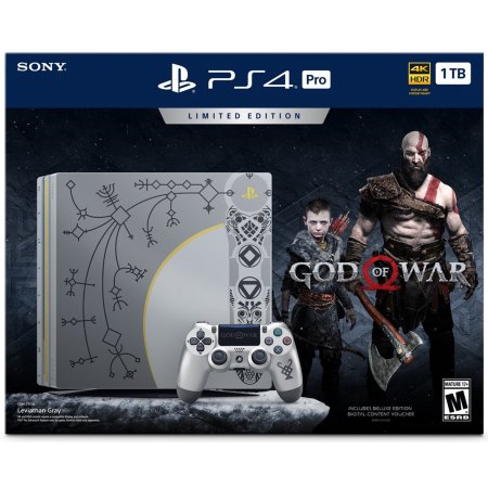 PS4™ Pro God of War™ Limited Edition.