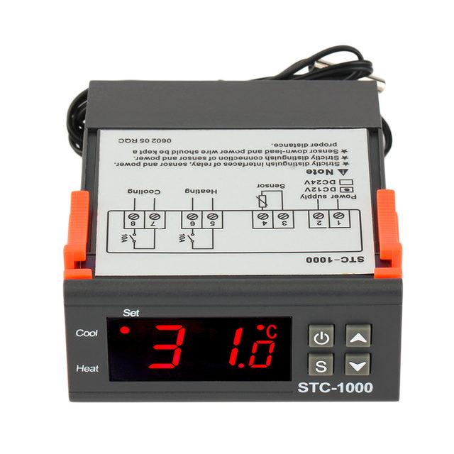 ตัวควบคุมอุณหภูมิ STC-1000 (12V)