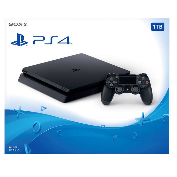 PlayStation 4 Jet Black 1TB (Free 1 Extra Dual Shock 4)
