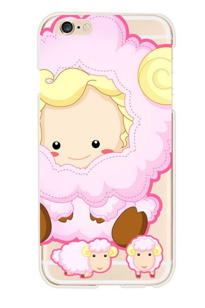 เคสไอโฟน 6P/6sPlus (TPU Case) เคสไอโฟน 12 ราศี ปีมะแม