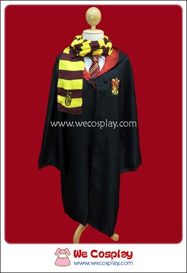 ชุดแฮร์รี่พอตเตอร์ แบบเซ็ต 5 ชิ้น ประกอบด้วยเสื้อคลุม ผ้าพันคอ เนคไท ไม้คทา แว่นตา