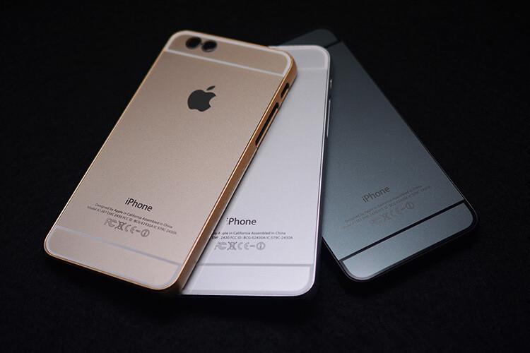 เคสไอโฟน 6 Plus / 6s Plus เคสไอโฟนอลูมิเนียมสีทอง