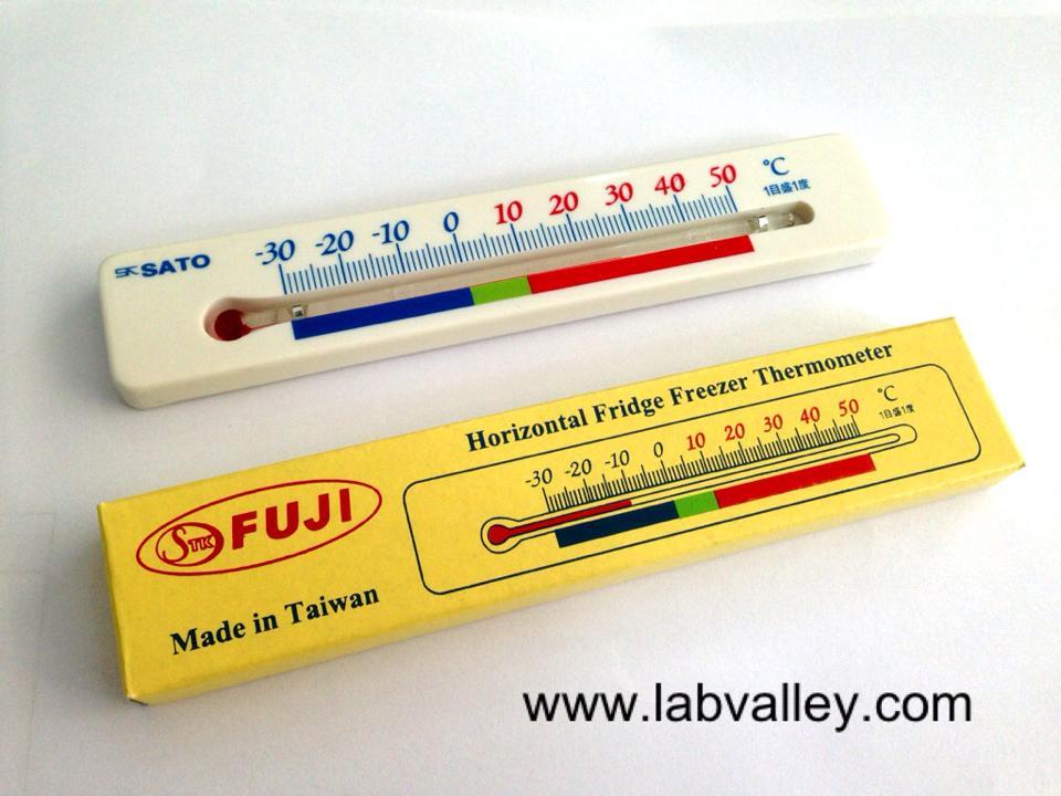 เทอร์โมมิเตอร์ติดตู้แช่ horizontal fridge freezer thermometer