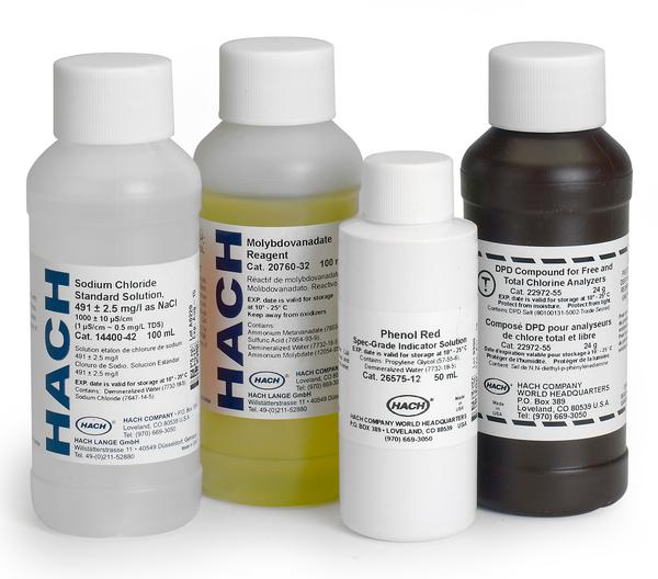"""น้ำยามาตรฐาน Conductivity Standard solution (NaCl) """"Hach"""""""