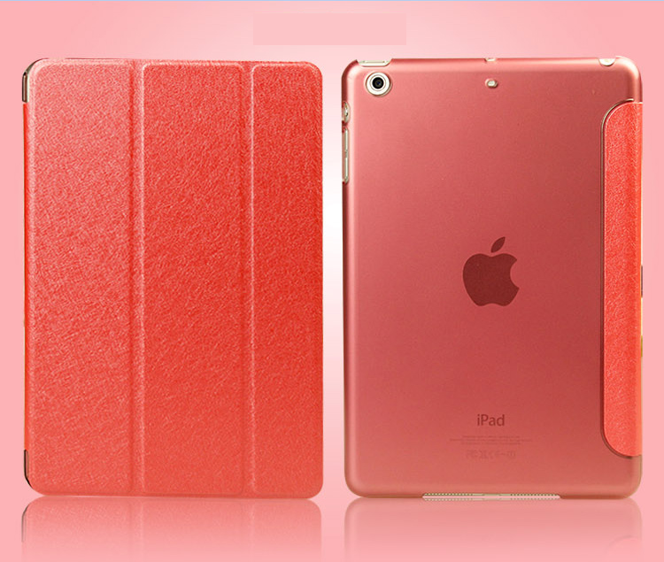 เคสไอแพด Ipad Air 2 ( Red ) Slim and Show Body