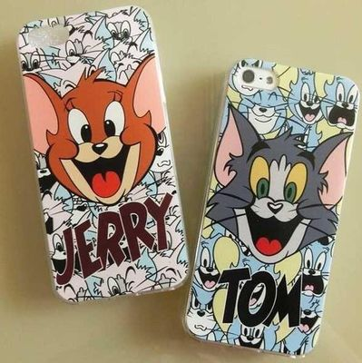 เคสไอโฟน 6Plus /6sPlus (TPU Case) Jerry