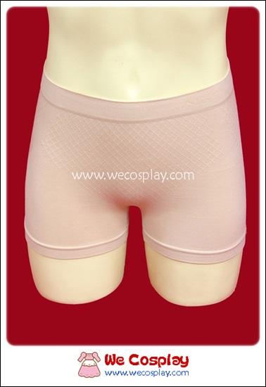 กางเกงสเตย์แบบสั้น สีเนื้อ กระชับต้นขา
