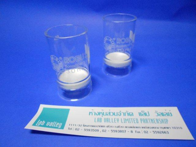 ถ้วยกรองแบบแก้ว glasfilter , glass filter crucible