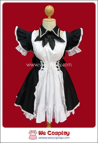 ชุดเมดไดอาน่า Diana Maid Costume สีดำ