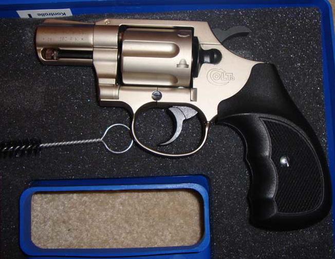 Umarex Colt Detective Special Nickel .380RK Blank gun