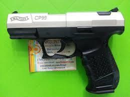 Umarex Walther P99 Nickel,Cal 9 mm.PAK.Blank Gun