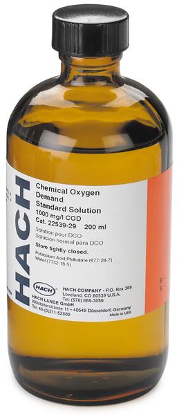 COD Standard Solution, 1000 mg/L. 200 ml
