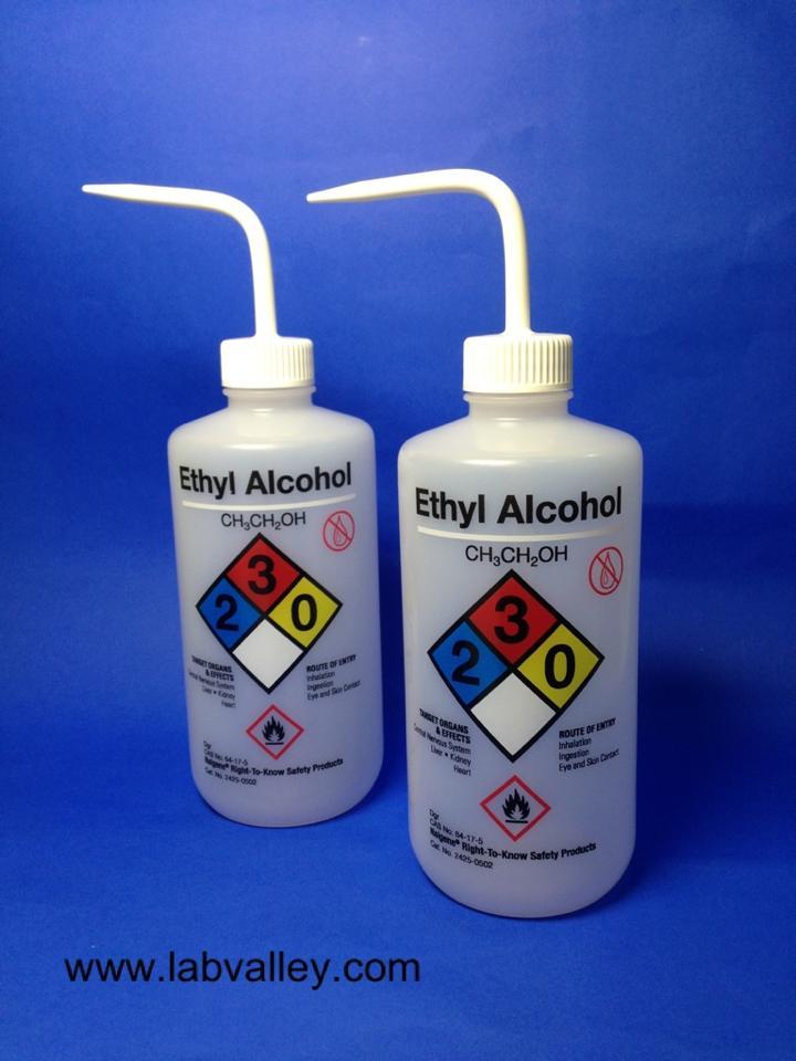 กระบอกฉีด solvent safety wash bottle ethyl alcohol