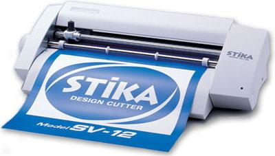 เครื่องตัดสติ๊กเกอร์ Stika SV-12