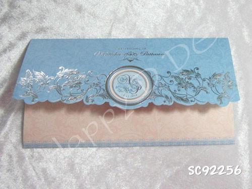 SC92256 การ์ดแต่งงานแบบเรียบหรู