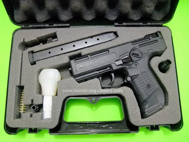 Zoraki 925 Sami-Full Auto Black , cal. 9mm. P.A.K. Blank Machine Gun